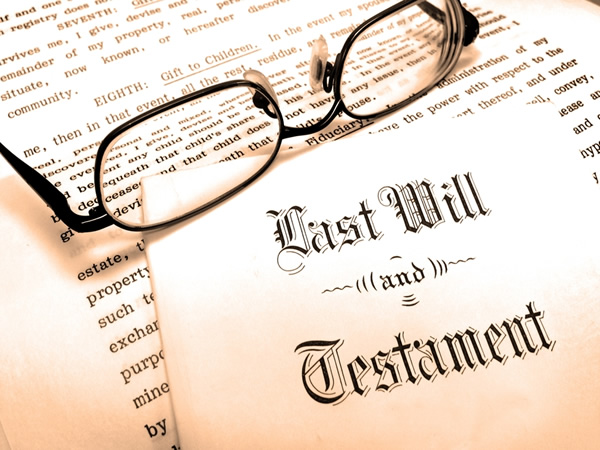 Wills and Testament